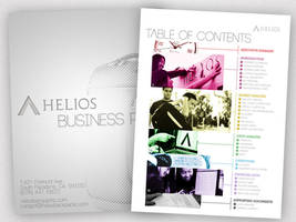 business plan cover and table of contents. by efftee