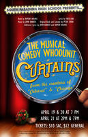 curtains poster. by efftee