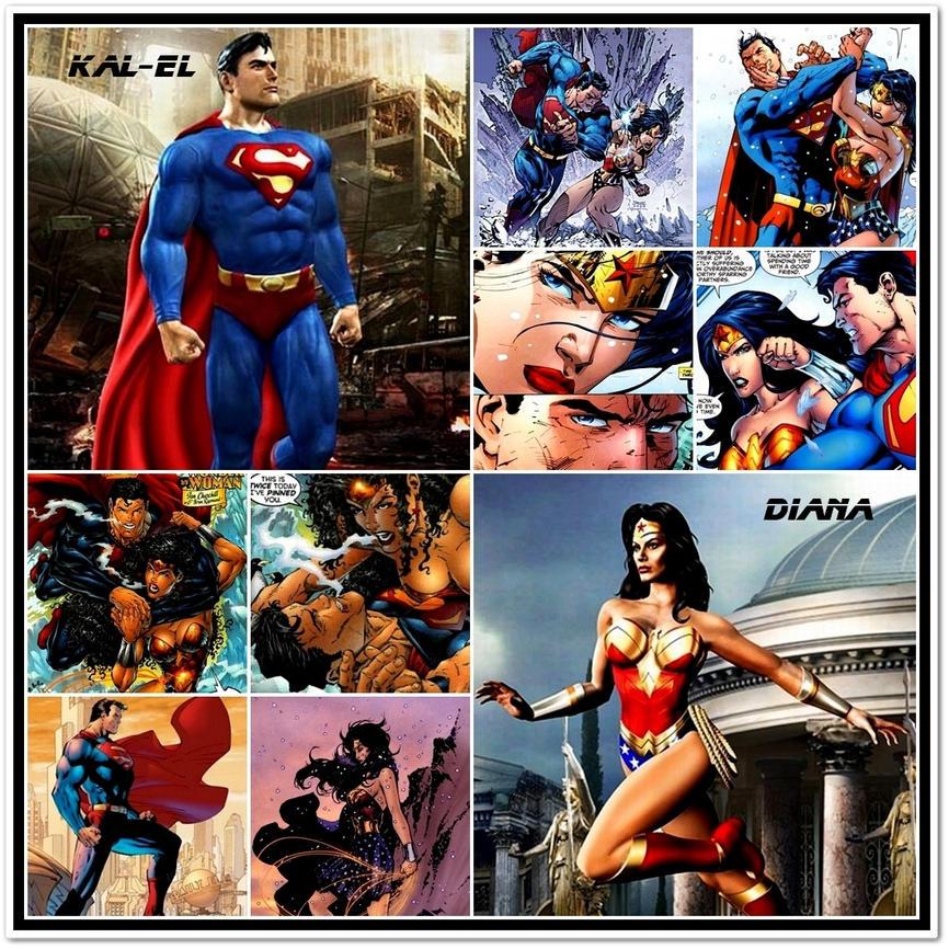 sex Superman wonder woman
