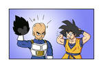 Vegeta's real head