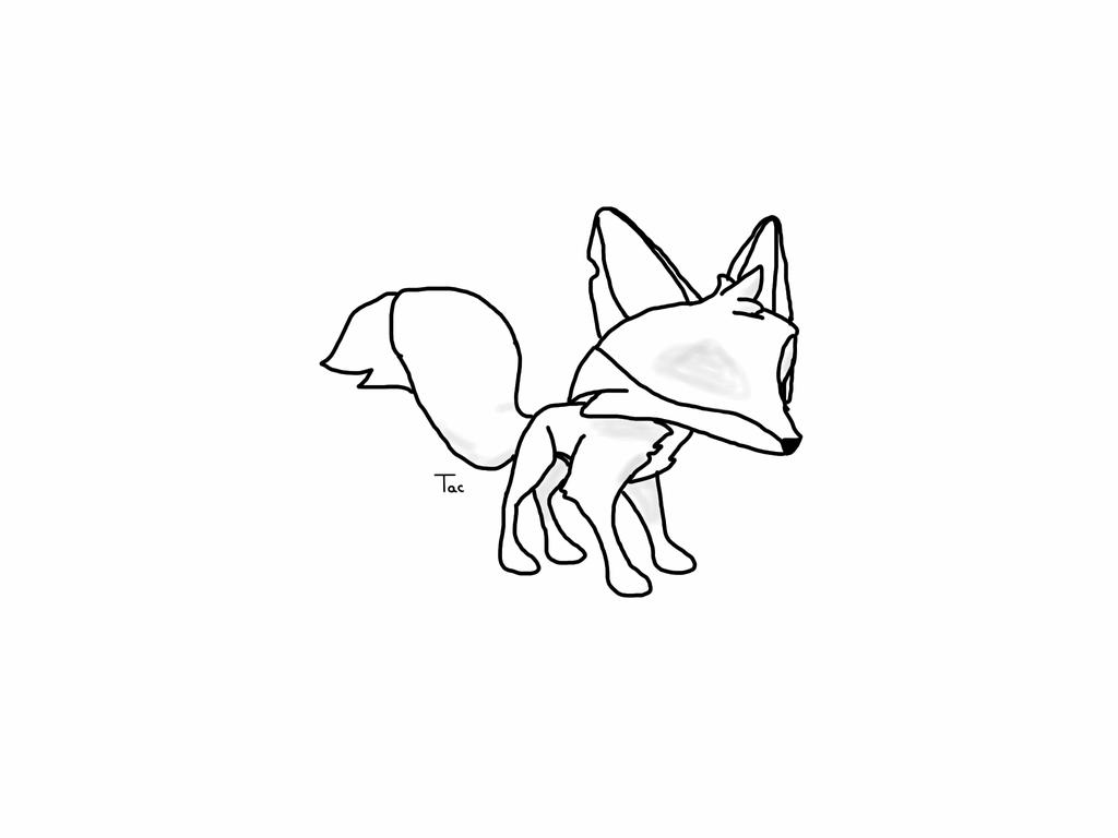 It is a photo of Transformative Animal Jam Fox Drawing