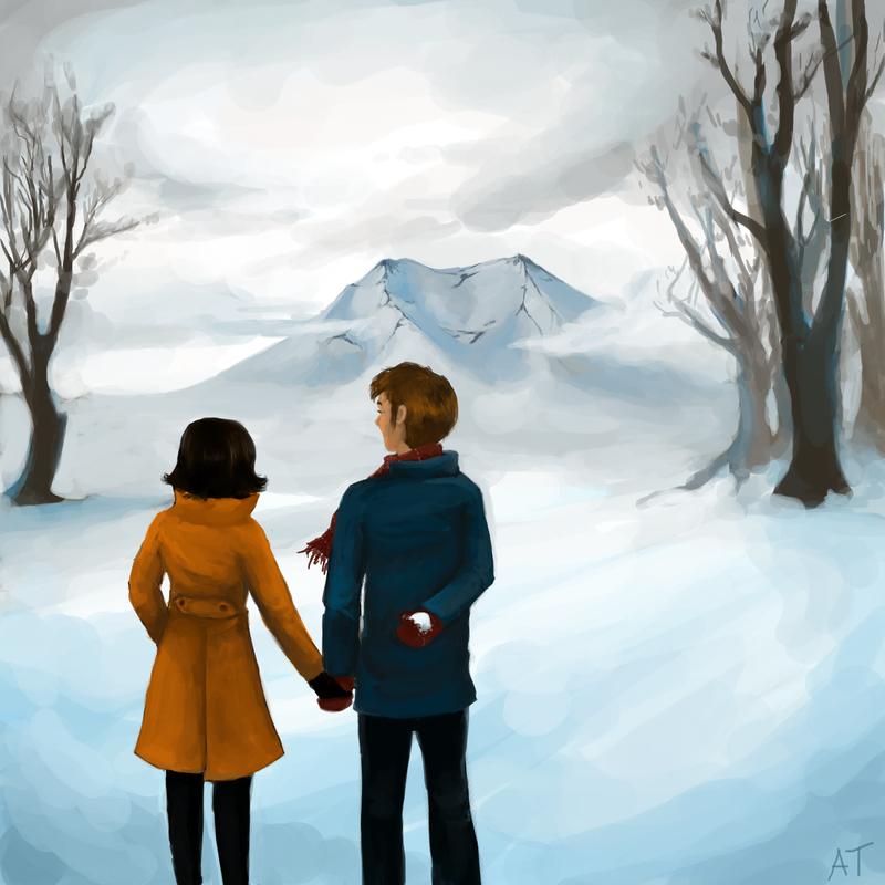 Snow Love by lemur-llama