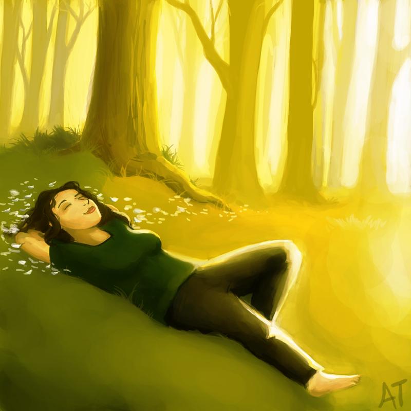 Forest Daydreaming by lemur-llama