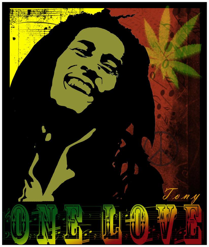 Bob Marley by Cskabob22