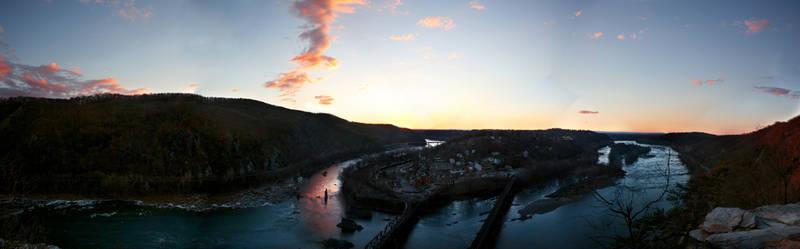 harper's ferry, wv: panorama