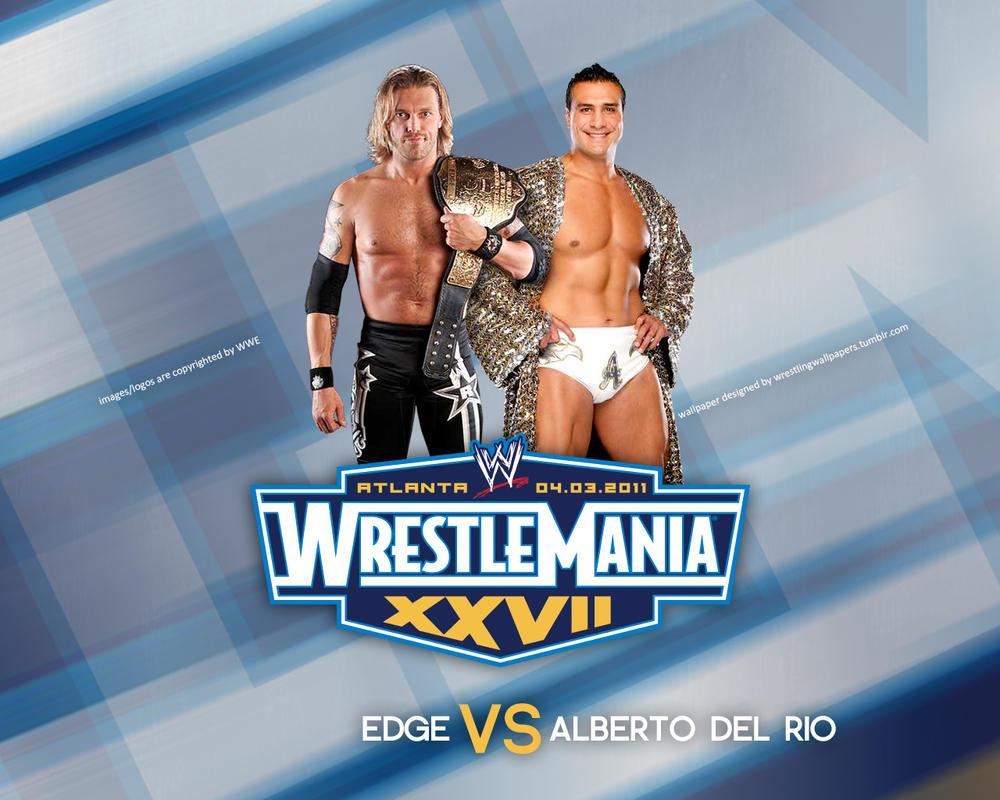 WrestleMania 27 Edge v Alberto by VideosHeat
