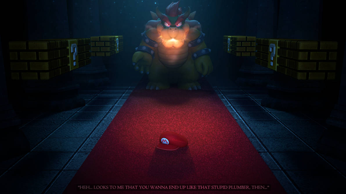 Bowser Day) The Final Boss of World 8-4 by Drakkonium on