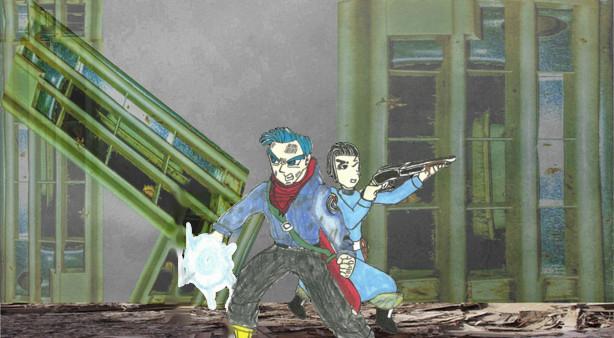 Original Future Trunks And Mai With Haircuts by zancecreator101