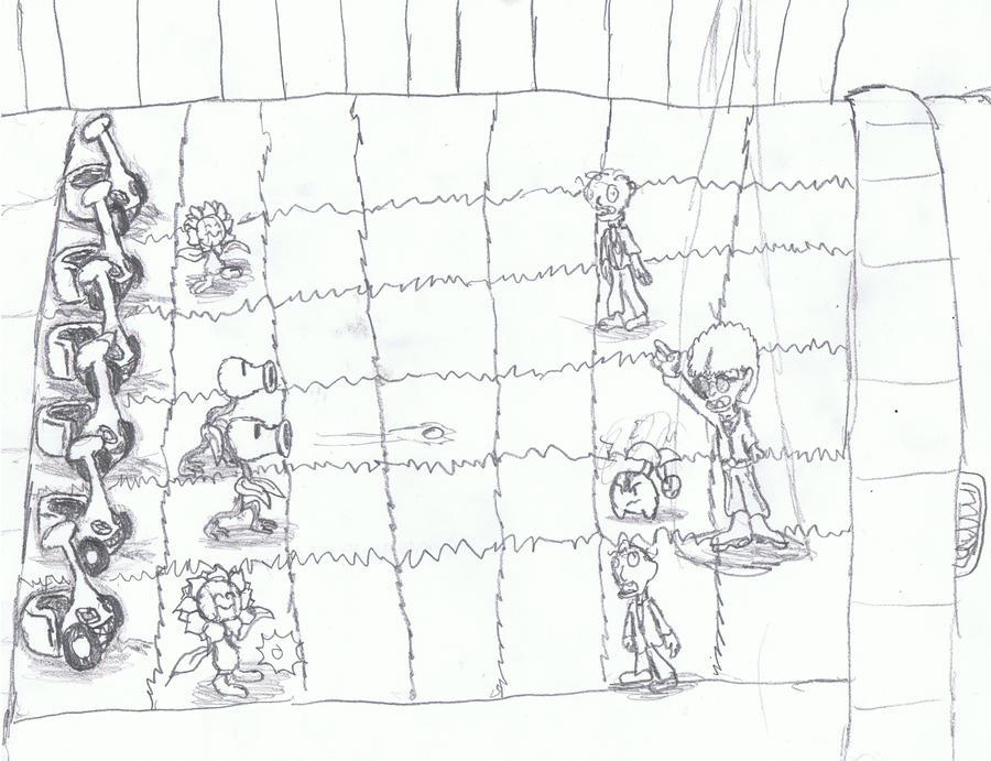 Plant vs zombie pokemon version by masterkiller777