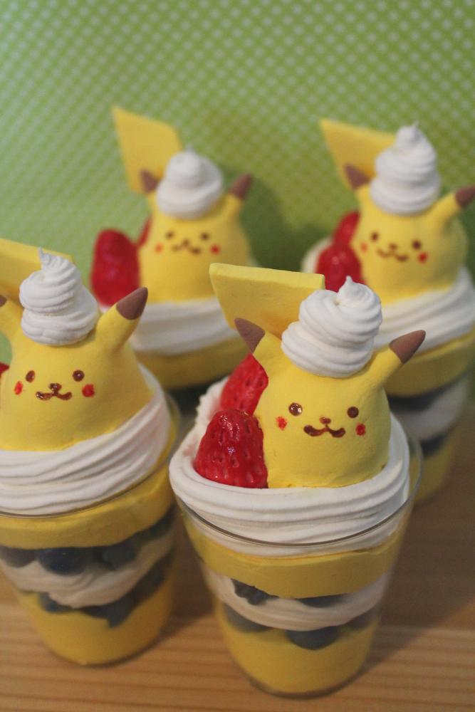 Pikachu Parfait by jessbaka