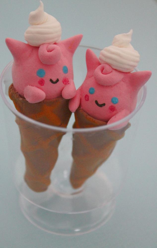 Jigglypuff Ice Cream by jessbaka