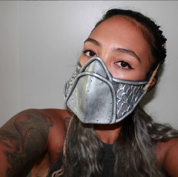 Sango mask wip by jessbaka