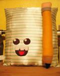 Mr. Paper and Mr. Pencil by manriquez