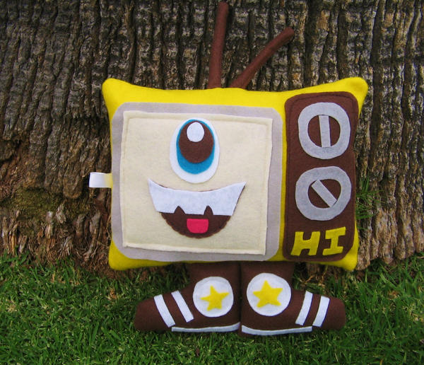 Hi TV Plush by manriquez