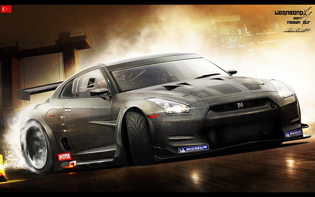 Nissan GT-R R35 by wegabond on DeviantArt