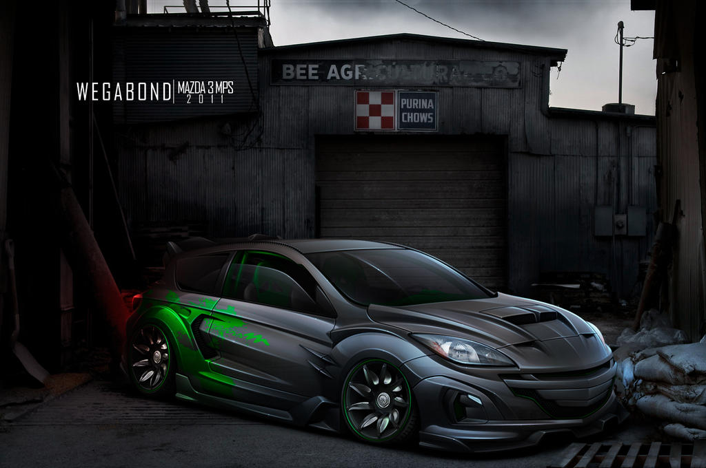 Mazda 3MPS by wegabond