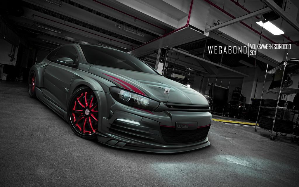Volkswagen Scirocco by wegabond