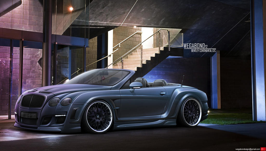 Bentley Continental GTC by wegabond