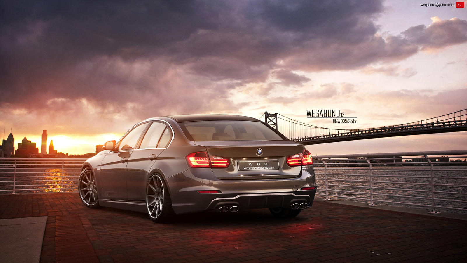 Bmw 335i Sedan by wegabond