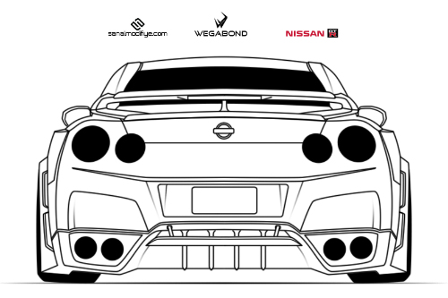 Nissan Gtr R35 By Wegabond On Deviantart