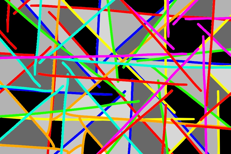 Another Abstract by Jcat66