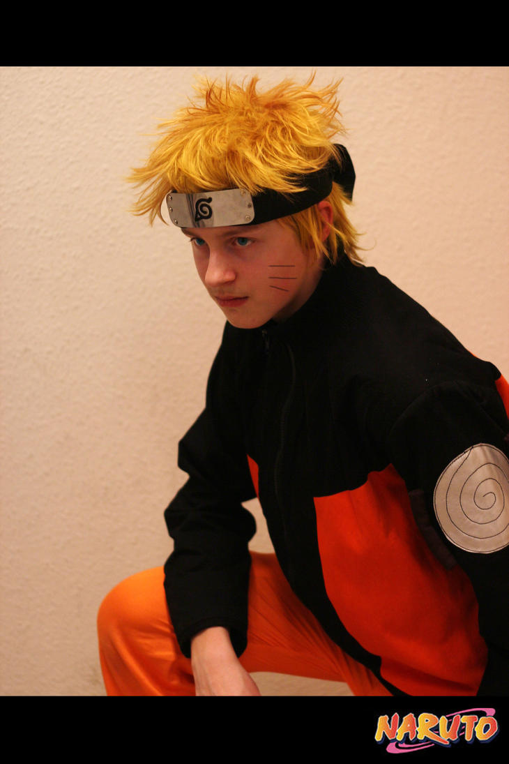 Naruto Uzumaki Shippuden Cosplay by XRallemangafreak