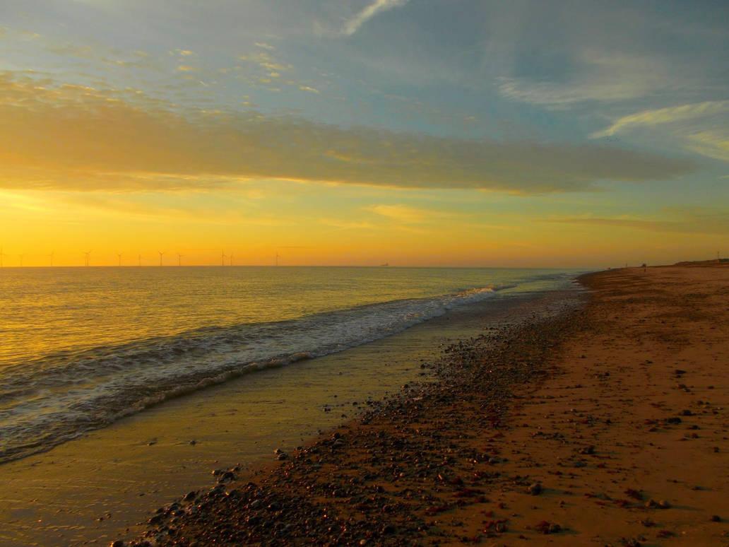 Sunrise Across The Shoreline