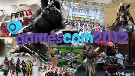 Gamescom 2012 - Bilder Collage