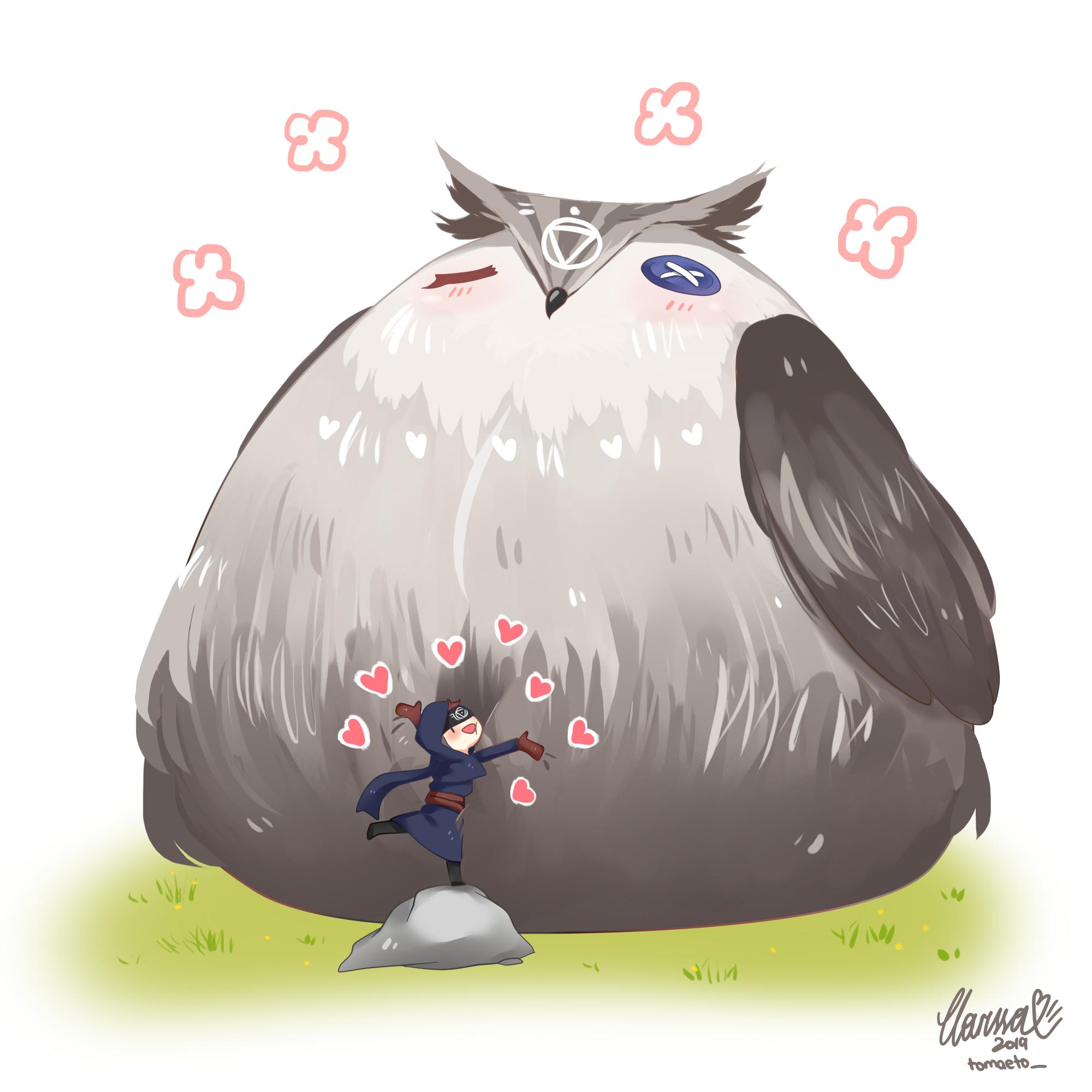 Big O L Owl Of Eli Clark Uwu By T0maet0 On Deviantart