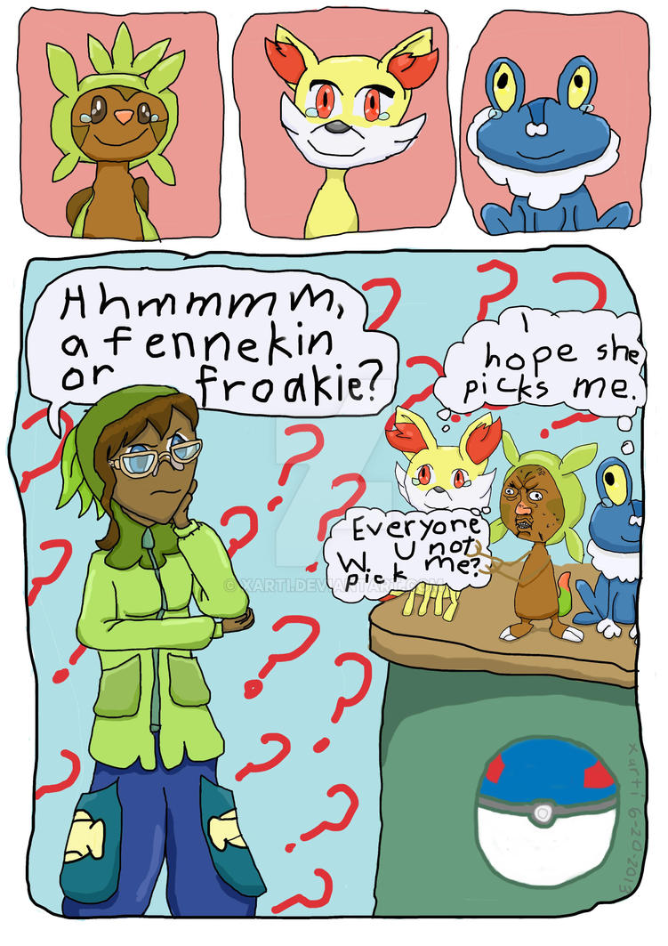 how to get all starters in pokemon x