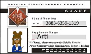 Shinra ID - Arti/ 2DS Friend Code by Xarti