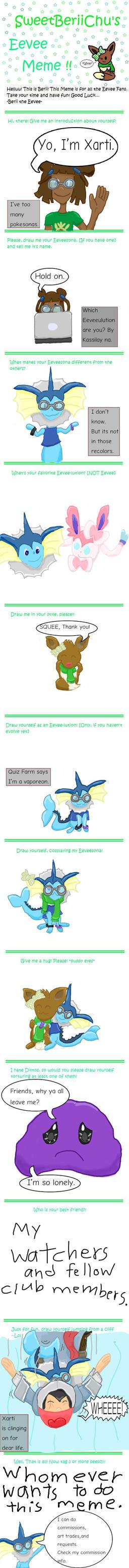 My Eevee Meme by Xarti