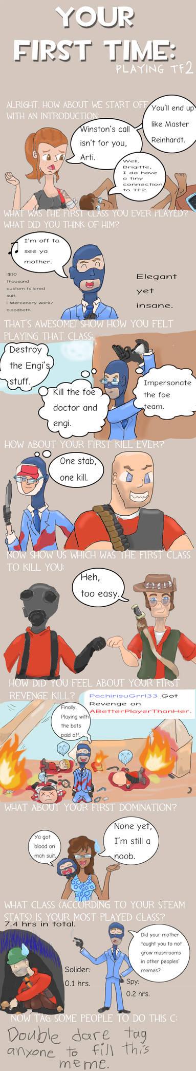 Xarti's First-ish Time in Tf2 Meme