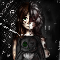 Sophie/Infected girl by BloodyMoon243