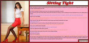 Sitting tight version 2 by The-Princess-Marie