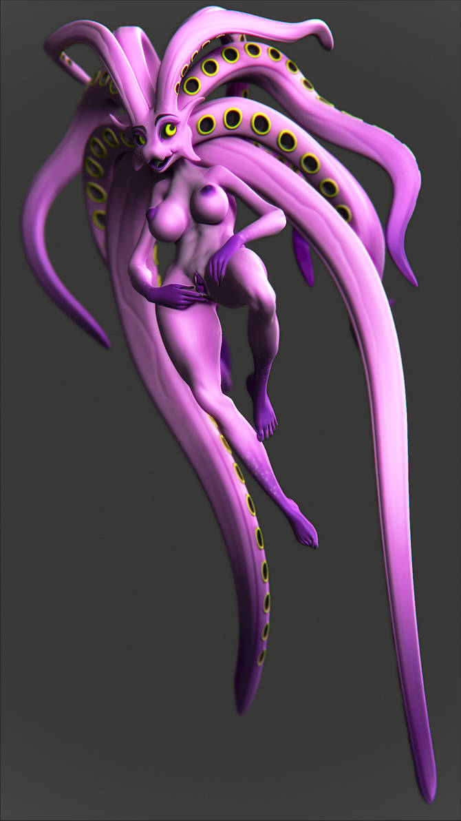 octo hair by Kruku
