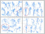 AM Class 1 Sketch poses