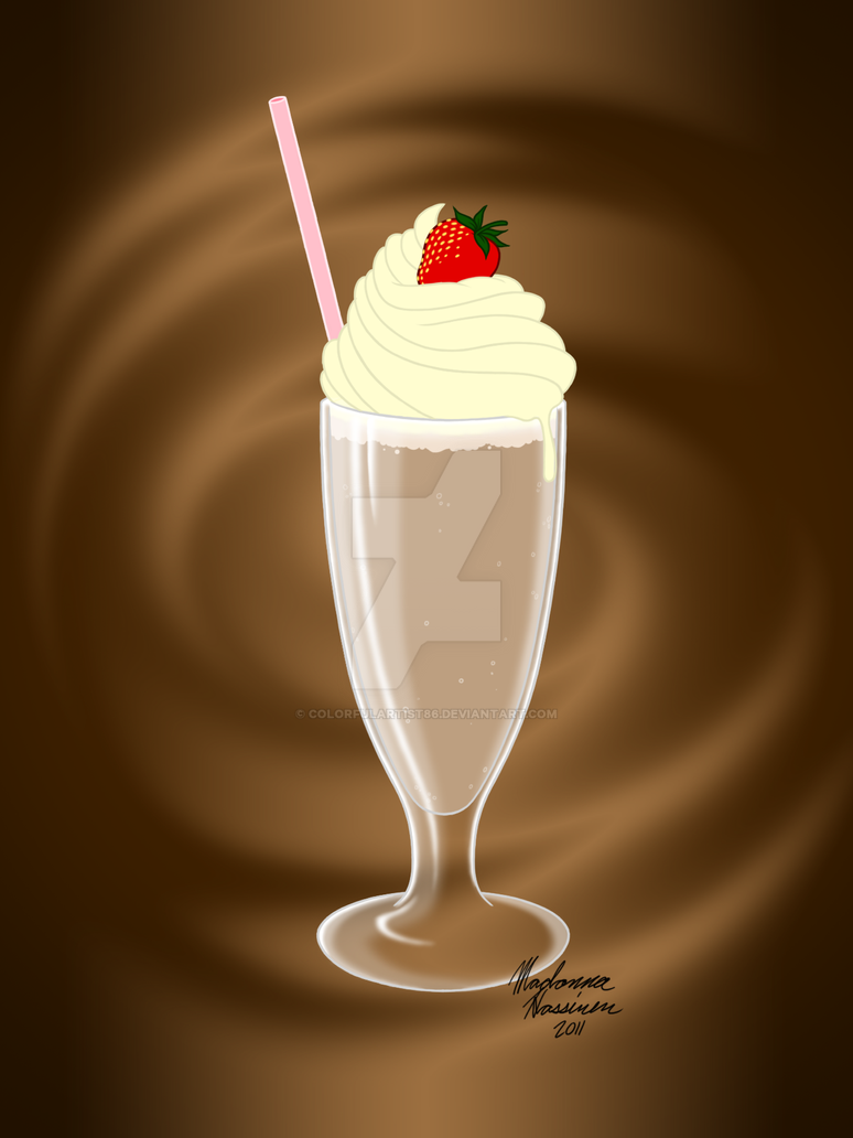 Chocolate Milkshake by ColorfulArtist86
