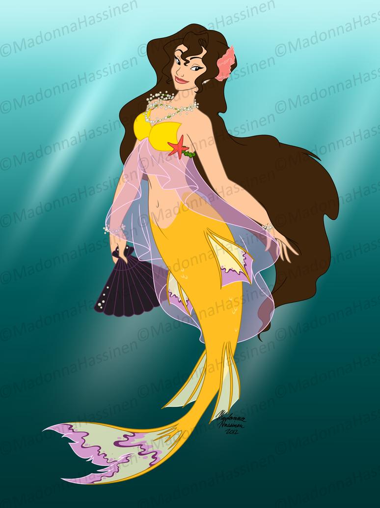 Italian Mermaid by ColorfulArtist86