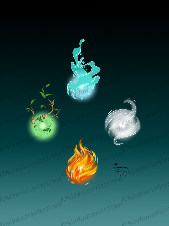 add a magical element