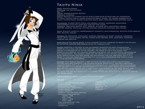 Taijitu Ninja Profile (NEW)