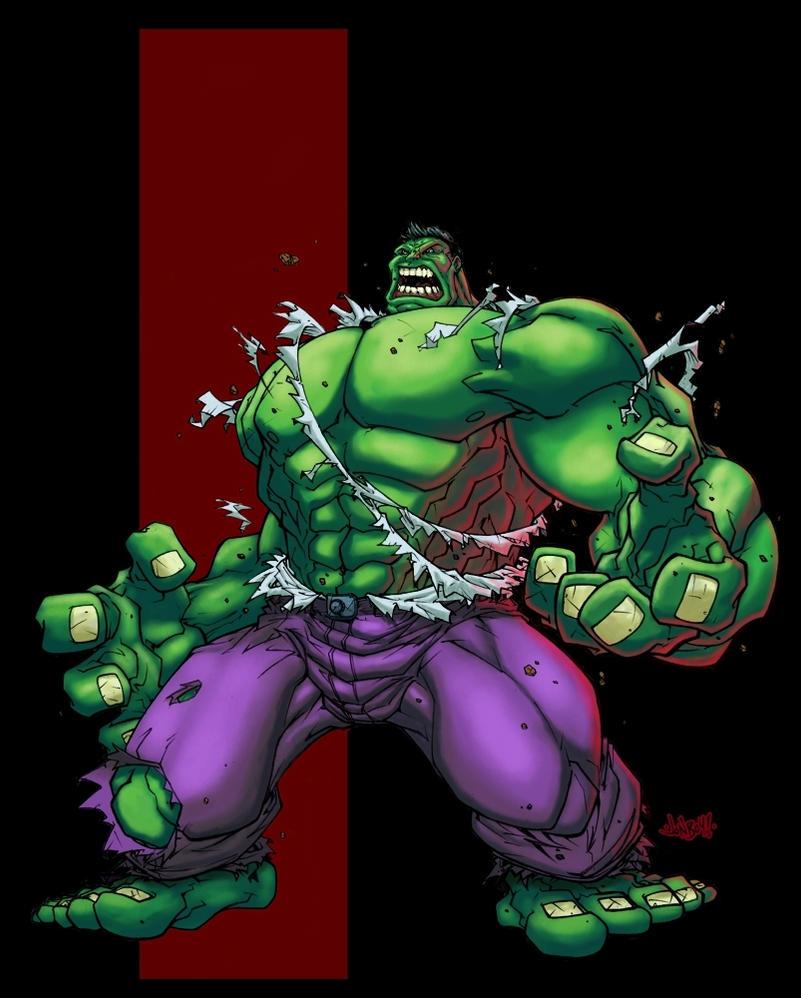 red hulk by logicfun