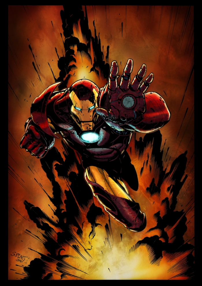 iron man by logicfun