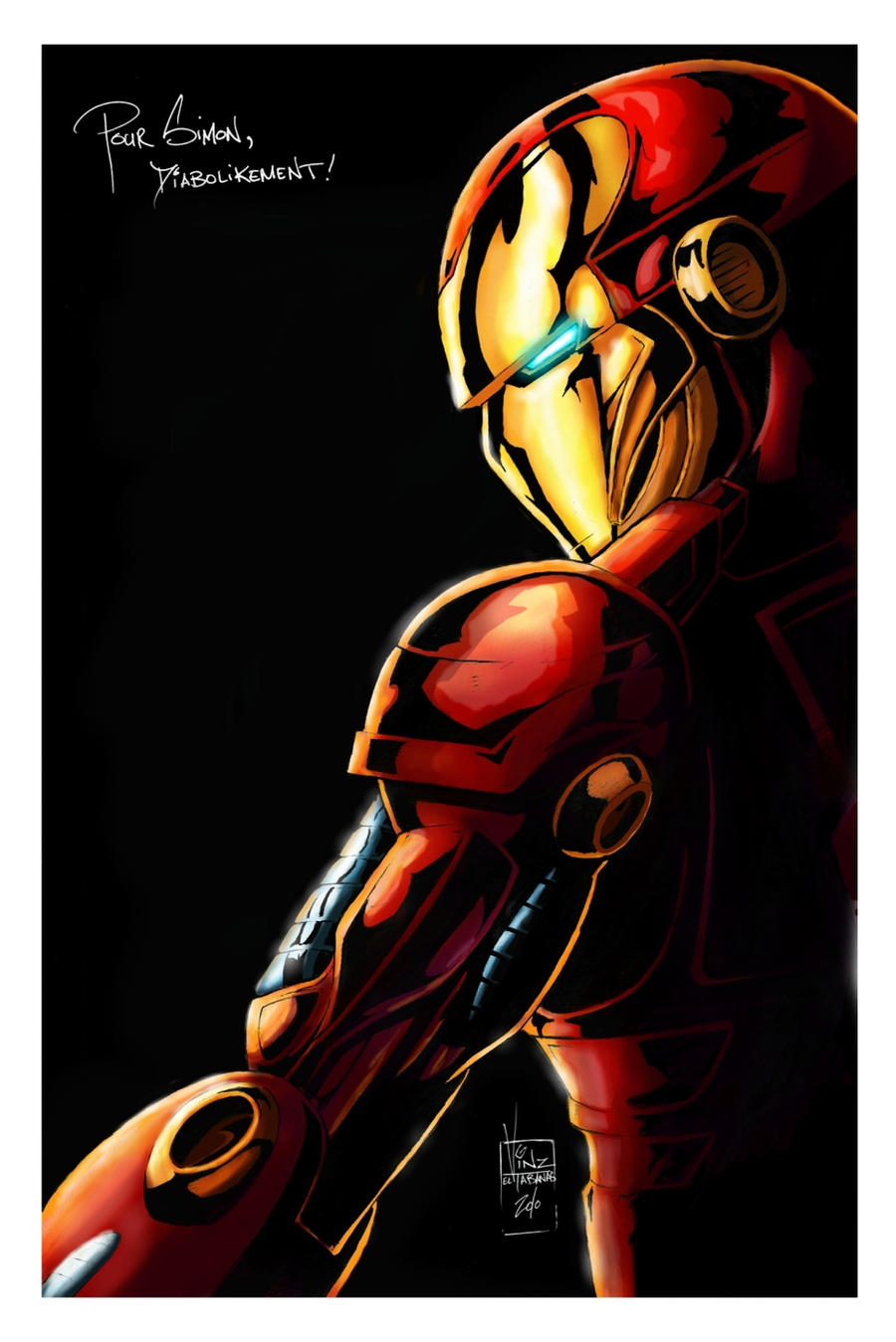 iron man profil by logicfun