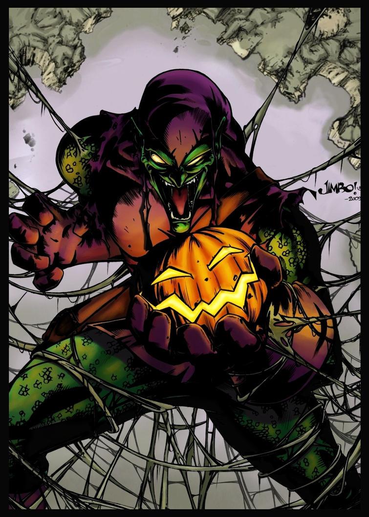 Green goblin by logicfun on deviantart - Hobgoblin wallpaper ...