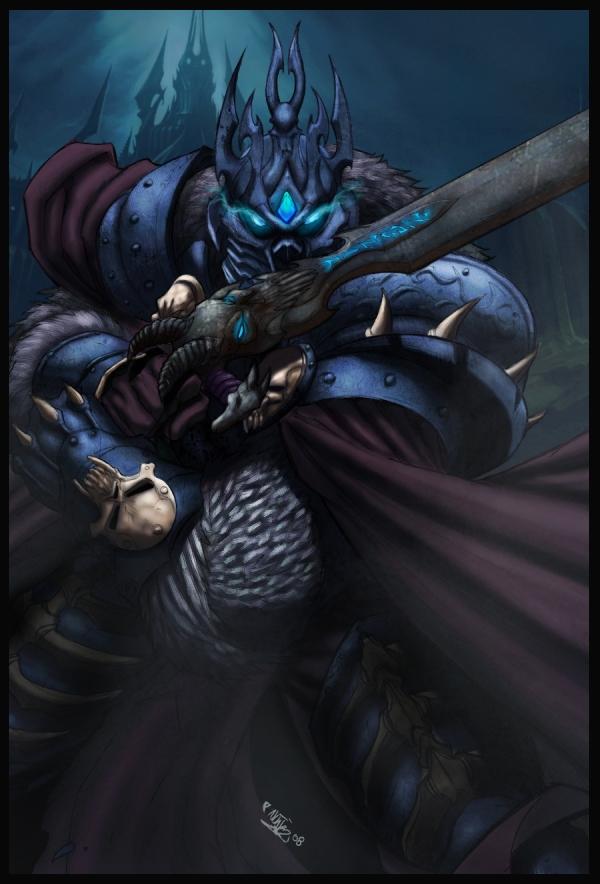 arthas the lich king by logicfun