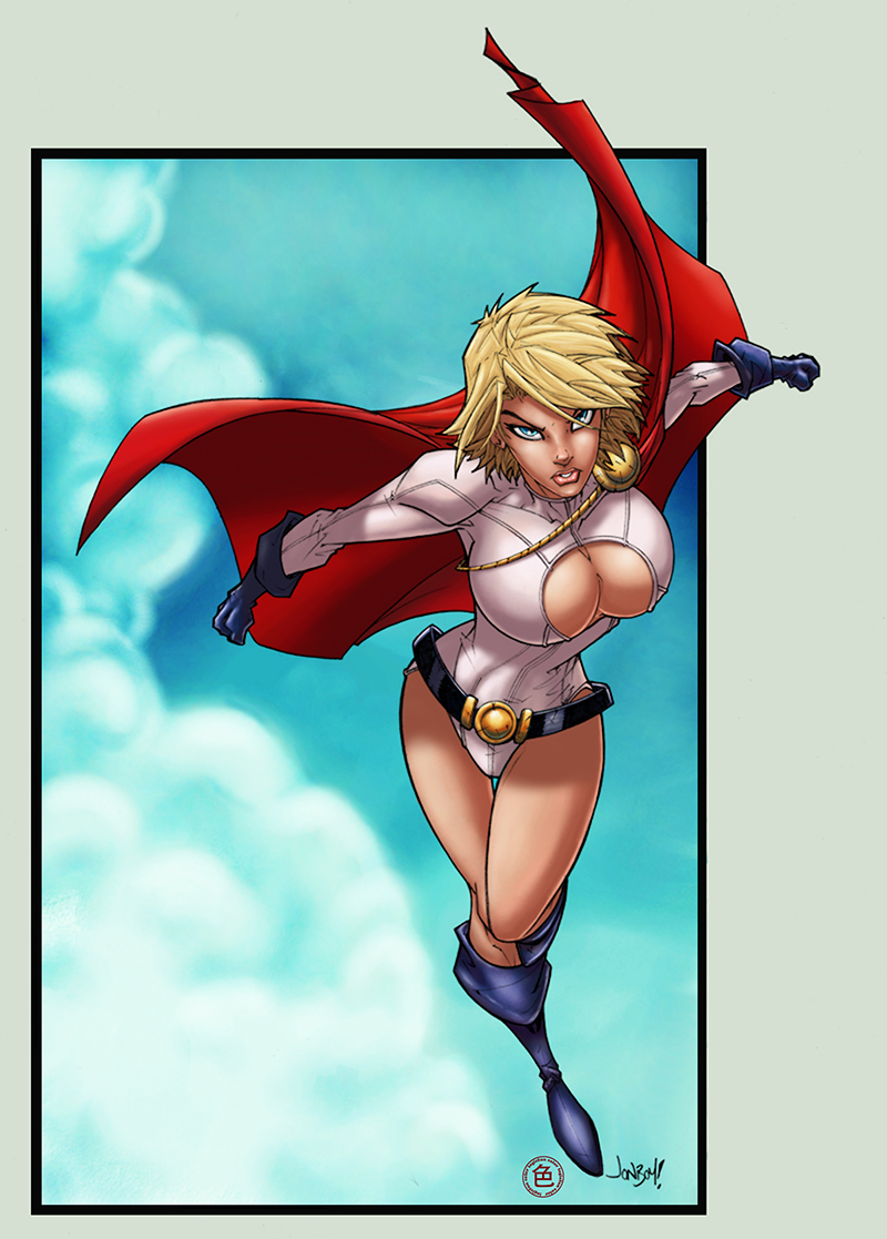 power girl by logicfun