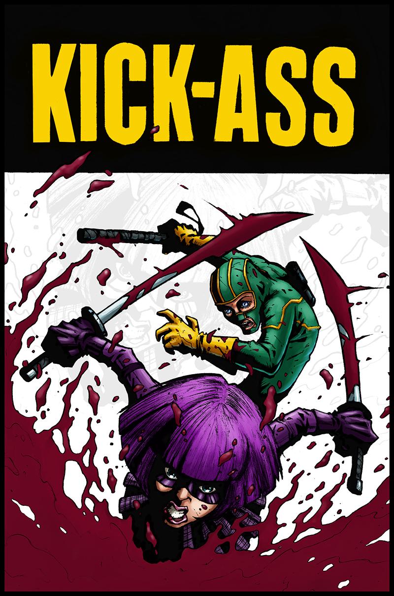 Kick-Ass by logicfun