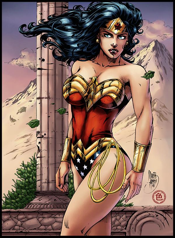 Wonder Woman by logicfun