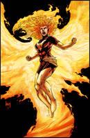 Dark Phoenix by logicfun